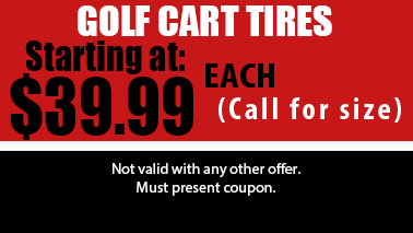 Golf Cart Tires Special, Auto Services in Sun City West, AZ